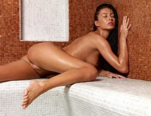 Красивые девушки в бане частное фото