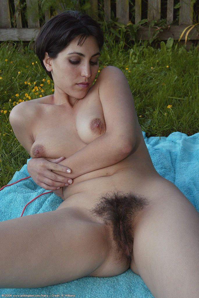 Волосатая писька