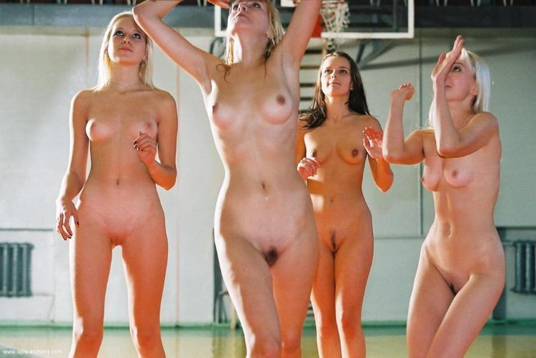Nudist boy and girly family pic