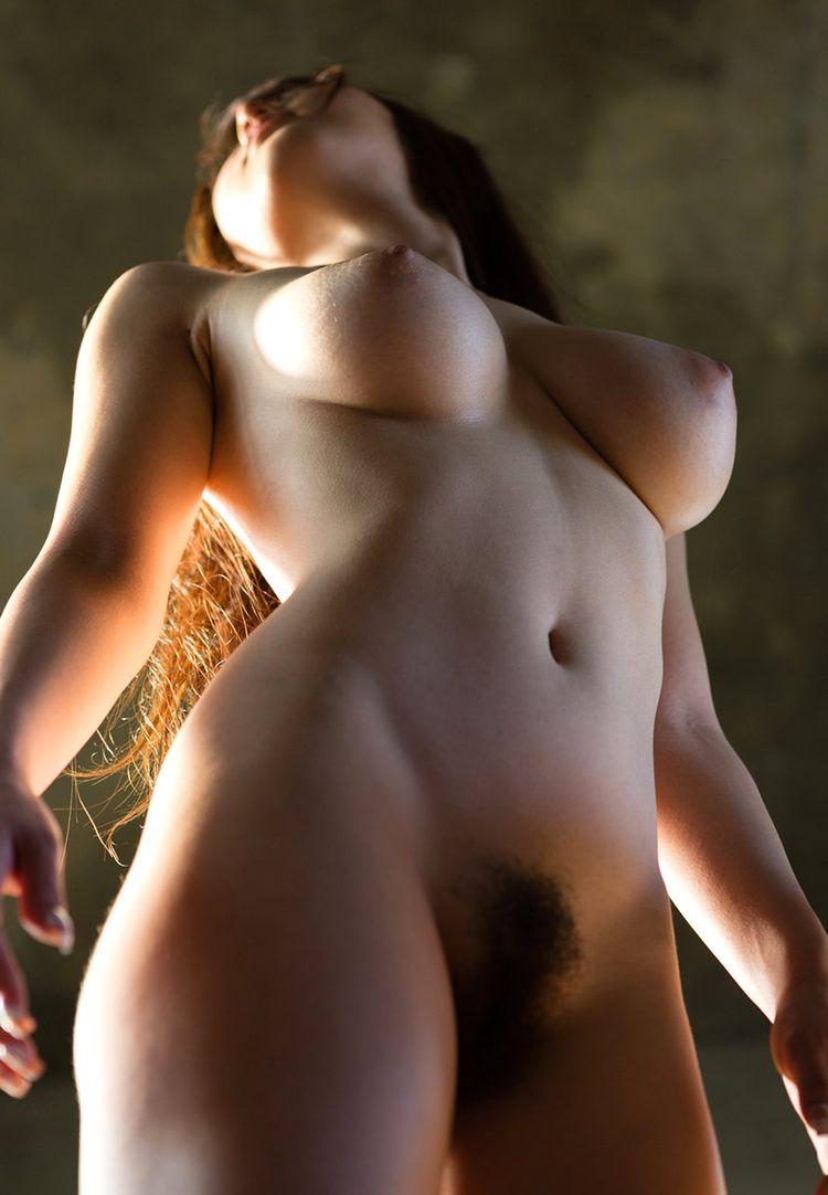 Женские лохматые писи