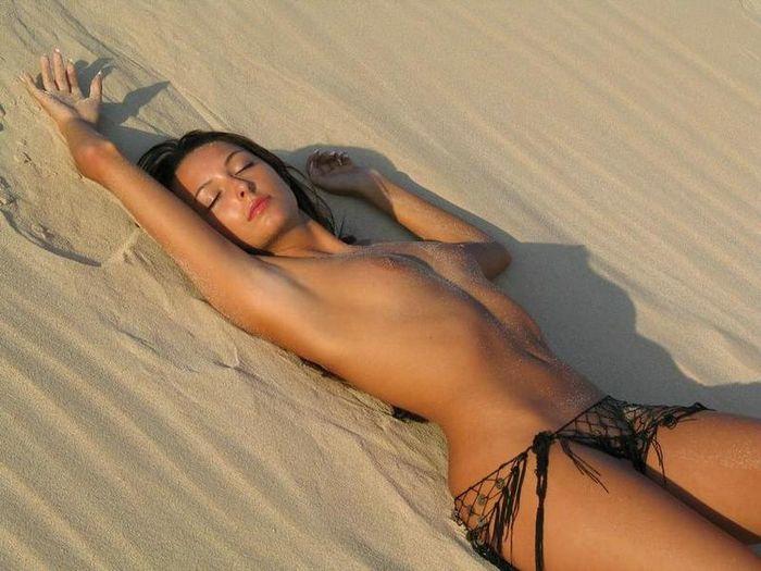 Голий пляж фото и его постоянные жители
